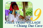 4 Hill Tribe Village and Chiang Dao Cave